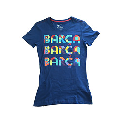 NIKE triko modré FCB (dámské)