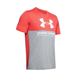UNDER ARMOUR  PERFORMANCE  APPAREL COLOR BLOCKED SS