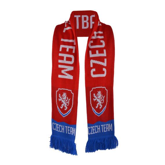 Šála Czech football 2015 červená