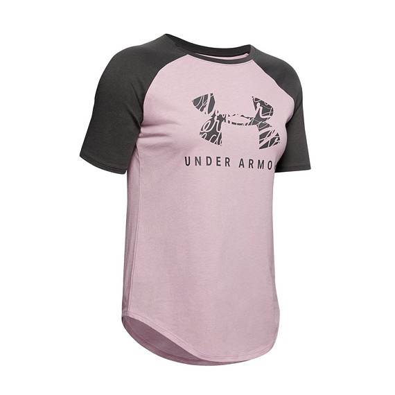 UNDER ARMOUR FIT KIT BASEBALL TEE GRAPHIC (dámské)